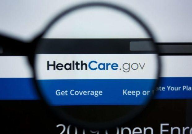 Healthcare Gov Website